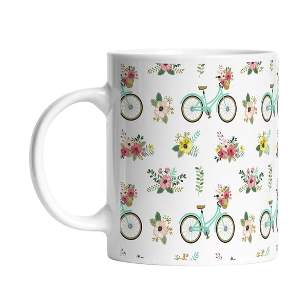 Keramický hrnek Spring Bikes, 330 ml
