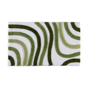 Koupelnová předložka Sardes Green, 60x100 cm