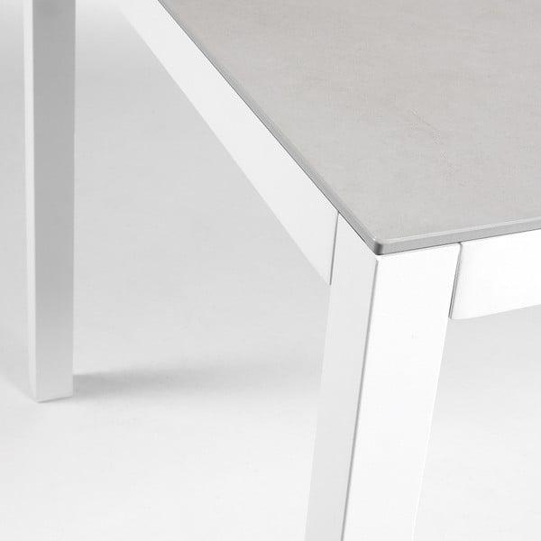 Bílý stůl La Forma Bogen,160x90cm