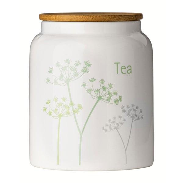 Dóza s bambusovým víkem na čaj Premier Housewares Parsley