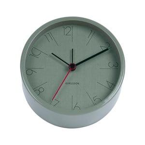 Ceas alarmă Karlsson Numbers, ø 11 cm, verde