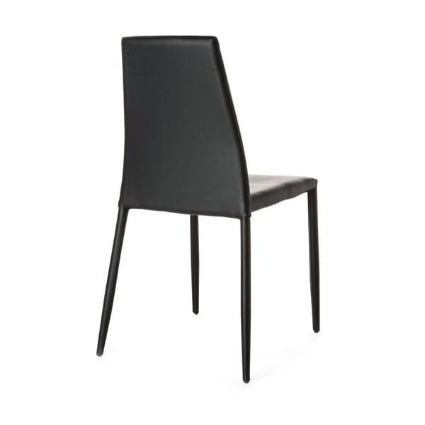 Sada 4 černých jídelních židlí Tomasucci Lion
