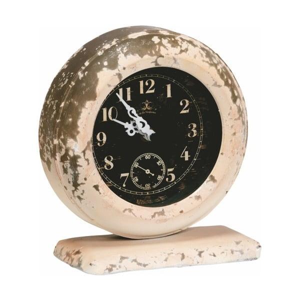 Kovové hodiny, 18x16x8 cm