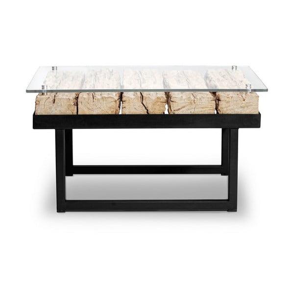 Stolik z blatem z drewna świerkowego Windsor & Co Sofas Rhea