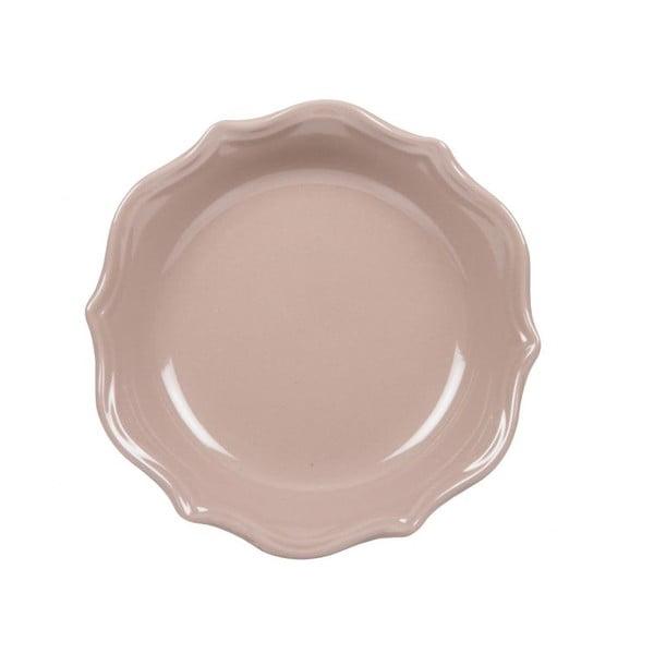 Sada 18 ks keramických talířů Bologne Beige
