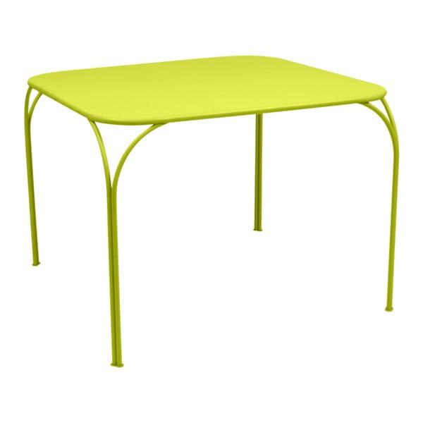 Zielony stolik ogrodowy Fermob Kintbury