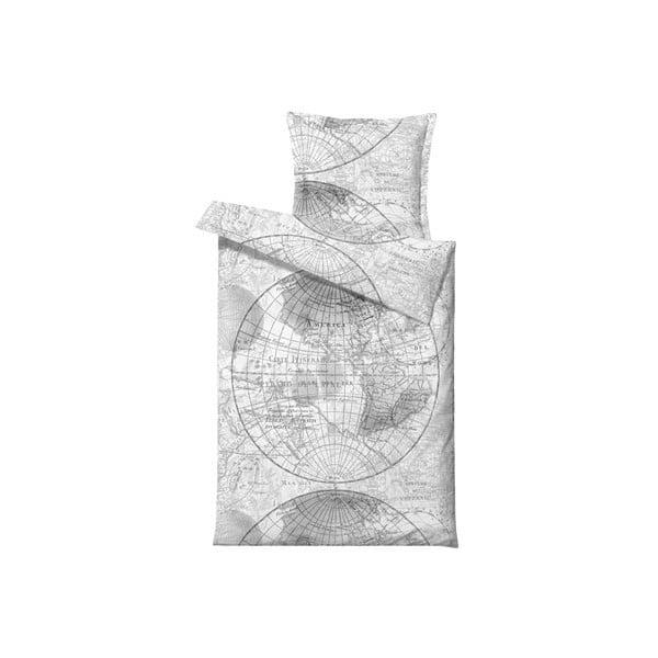 Povlečení World Map, na jednolůžko (200x140 cm)