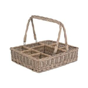 Košík s přihrádkami Willow, 61x42x13 cm