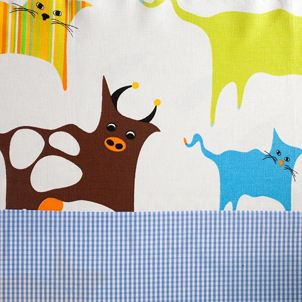 Dětský spací pytel Bartex Design Barevná zvířátka, 70x200cm