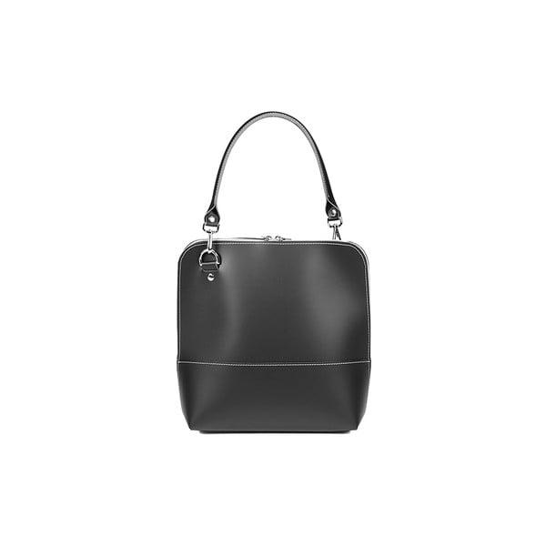 Kožená kabelka Mia Black