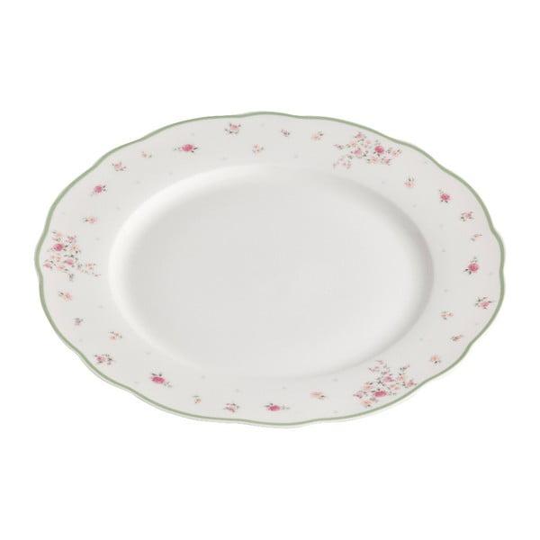 Nonna Rosa fehér porcelántál - Brandani