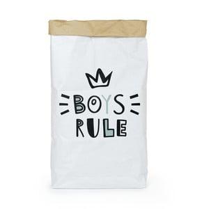 Pungă din hârtie reciclată Tanuki Boys Rule