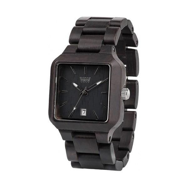 Dřevěné hodinky Metis Black
