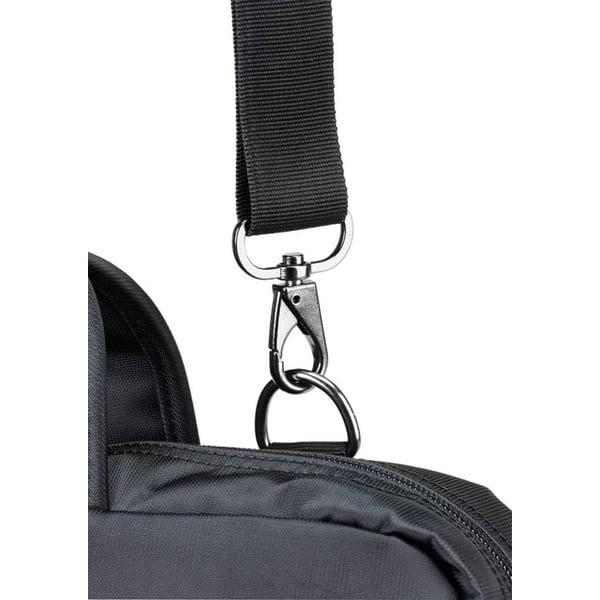 Protiskluzavý ergonomický ramenní popruh i-stay, černý