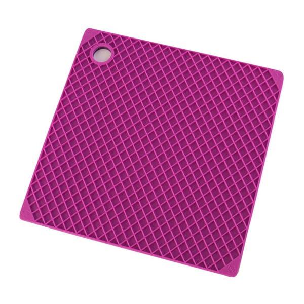 Silikonová chňapka, fuchsiová/fialová