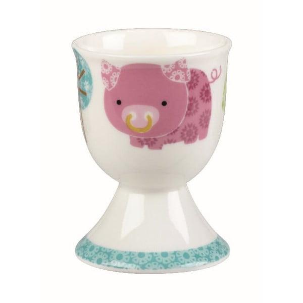 Set 4 ks kalíšků na vajíčka Owl & Cat