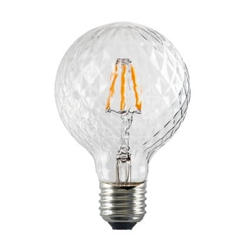 Bec cu LED Bulb Attack GLOBE Clear Crystal Linear, E27 5,5 W