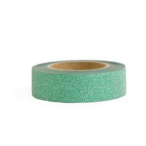 Washi páska Ohh Deer Green Glitter