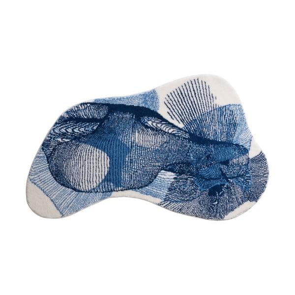 Koupelnová předložka Kolor My World XV 90x150 cm, modrá