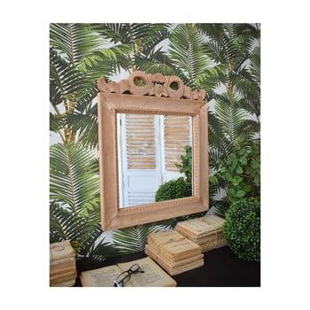 Oglindă din lemn de mango Orchidea Milano Antique, 60 x 50 cm imagine