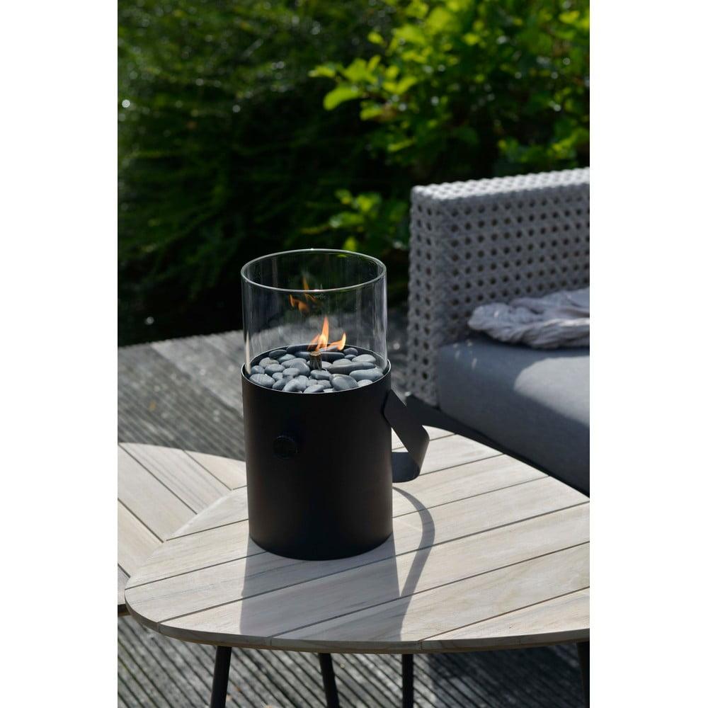 Černá plynová lampa Cosi Original, výška 30 cm