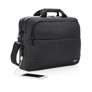 Taška na notebook s USB portem XD Design
