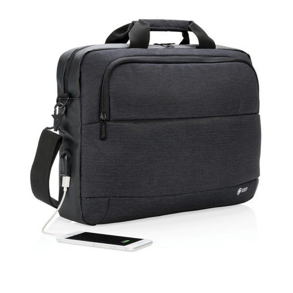 Geantă pentru laptop cu port USB XD Design