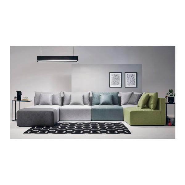 Canapea în nuanțe colorate Bobochic Paris Metis