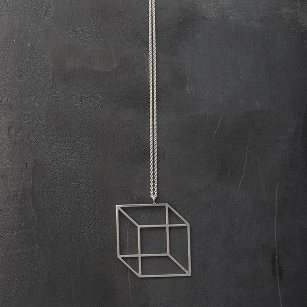 Náhrdelník Cube Silver z kolekce Geometry