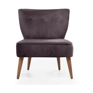 Scaun tapiţat Balcab Home Molly, violet închis