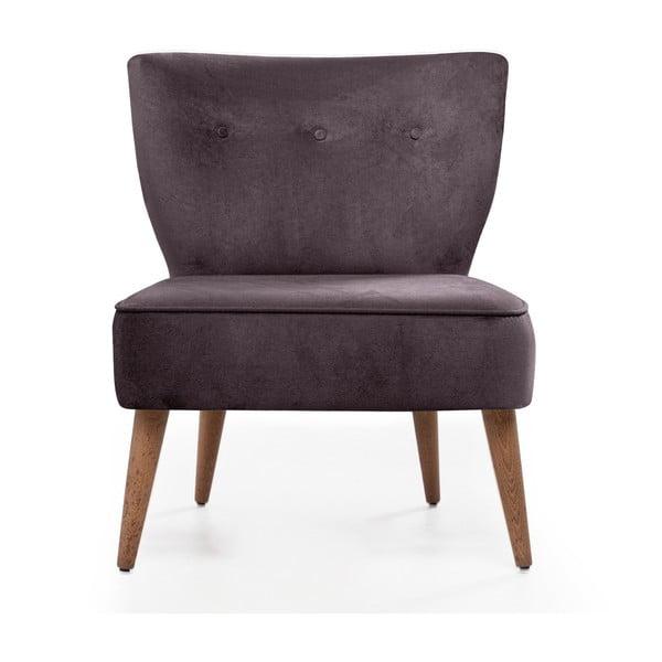 Home Molly sötétlila kárpitozott szék - Balcab