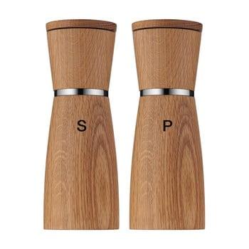 Set 2 râșnițe din ceramică pentru sare și piper WMF Nature imagine