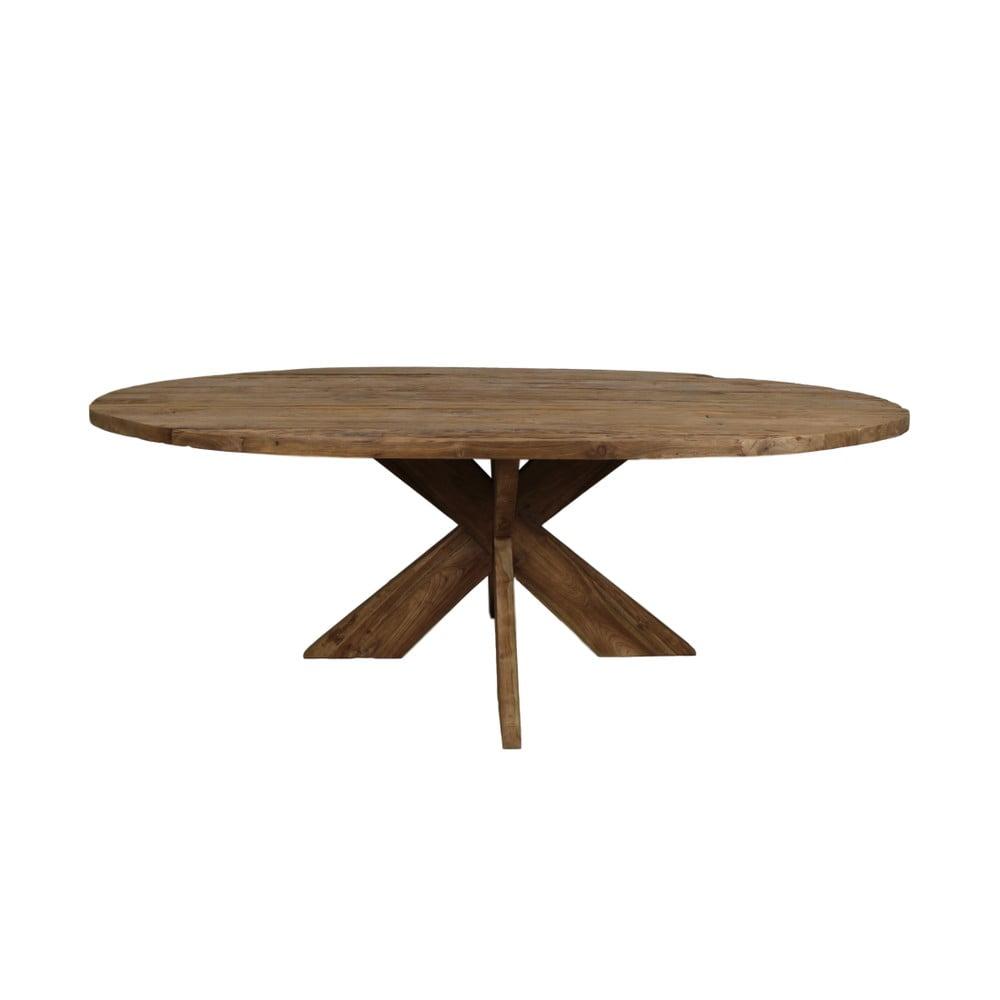 Jídelní stůl z teakového dřeva HSM Collection Erosie, 220 x 110 cm
