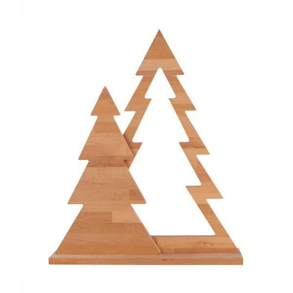 Duo Xmas égerfa dekoráció, magasság 72 cm - Nørdifra
