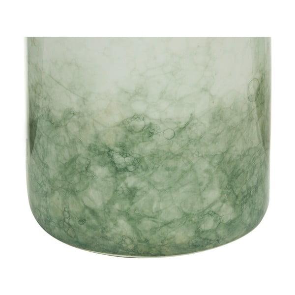 Recipient din ceramică Santiago Pons Havan, înălțime19cm, alb - verde