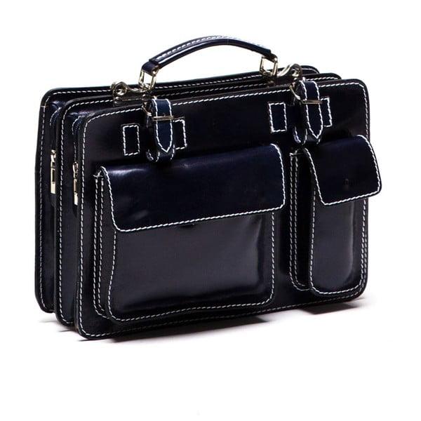 Kožená kabelka Isabella Rhea 309 Blue