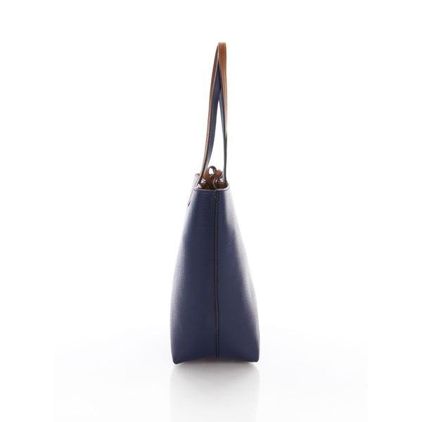 Kabelka Ladie Navy Blue Tan