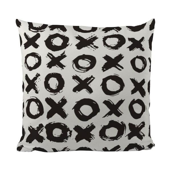 Polštářek Black Shake XOXO, 50x50 cm