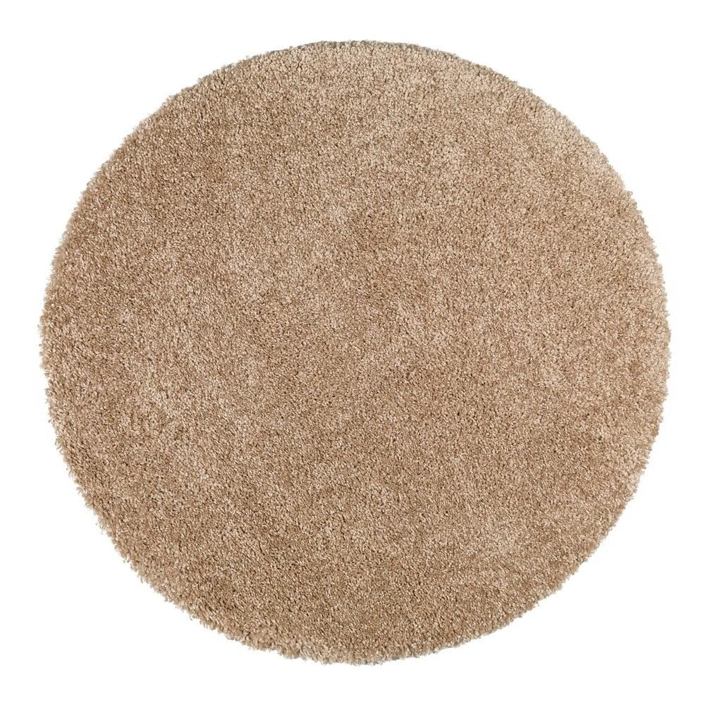 Produktové foto Světle hnědý koberec Universal Aqua Liso, ø100cm