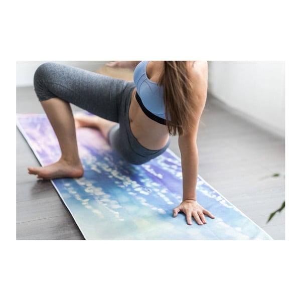 Modrofialová Podložka na jógu Yoga Design Lab Commuter Serenity, 1,3kg