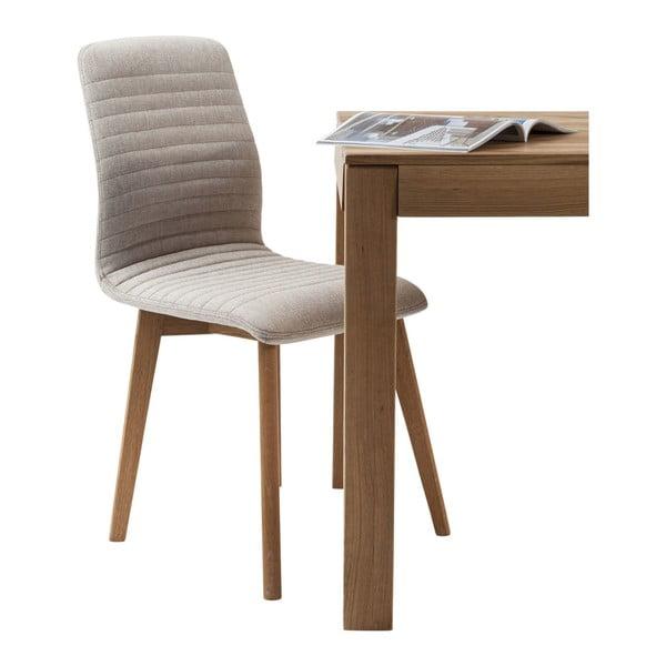 Sada 2 krémových jídelních židlí Kare Design Lara
