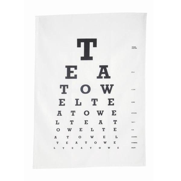 Kuchyňská utěrka Eye Test, 50x70 cm