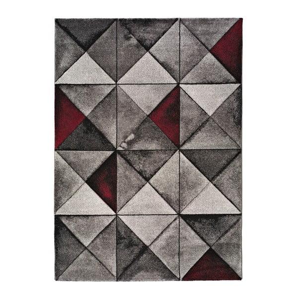 Šedý koberec Universal Optik, 60x120cm