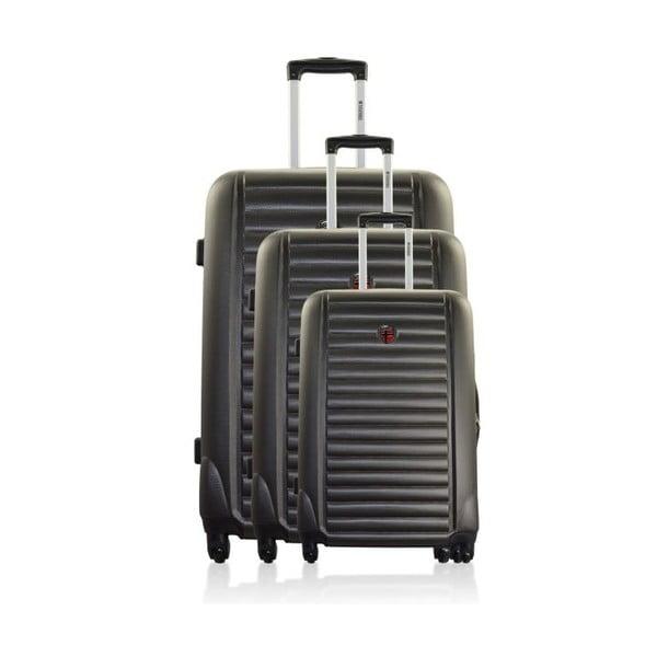 Sada 3 cestovních zavazadel Stokholm