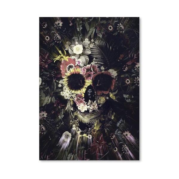 Autorský plakát Garden Skull