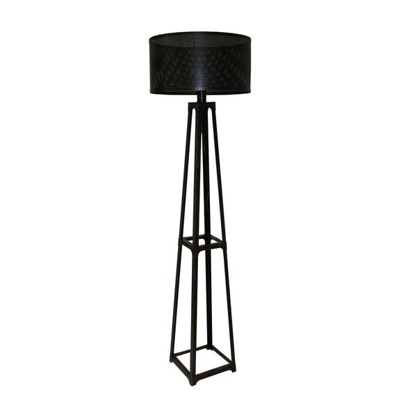 Stojací lampa Black Fer, 255 cm