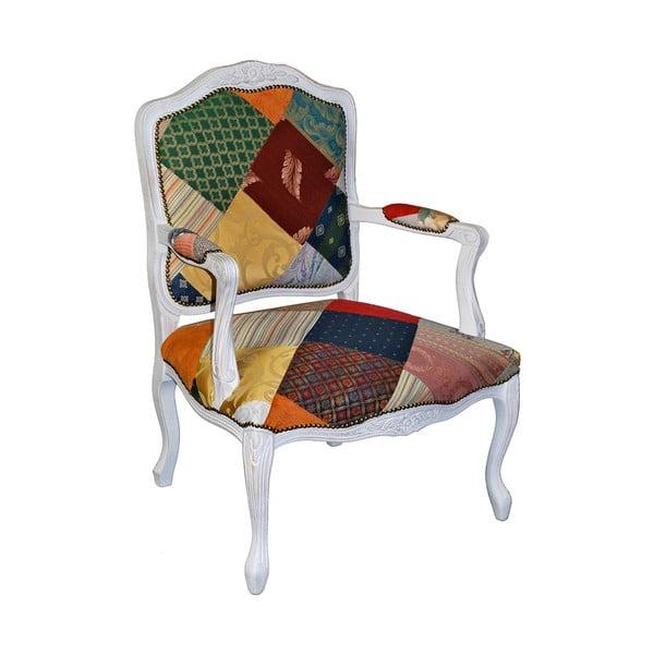 Dřevěná židle Evergreen House Patchwork Amily