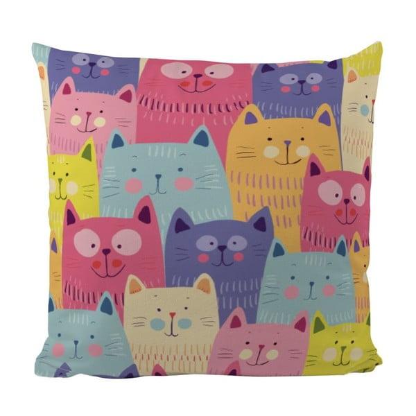 Polštářek Butter Kings Cats In Colours
