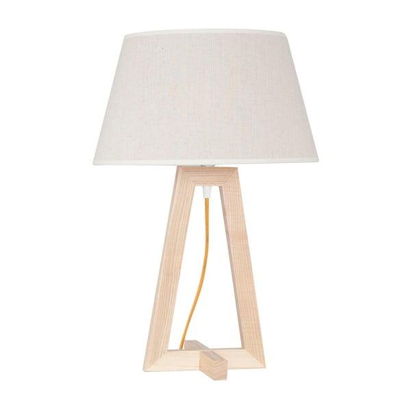 Lampă de masă cu cadru din lemn Olie