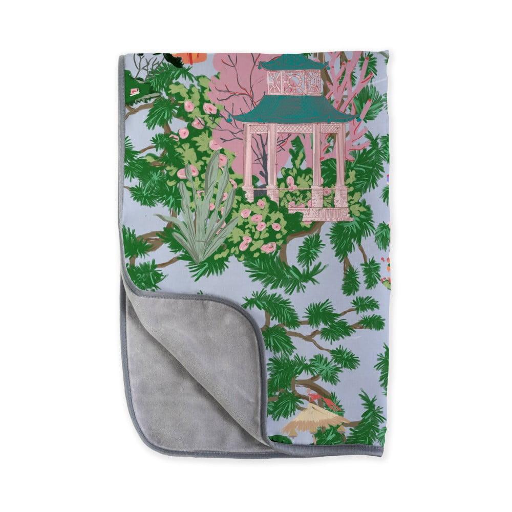 Oboustranná deka z mikrovlákna Surdic China, 130 x 170 cm